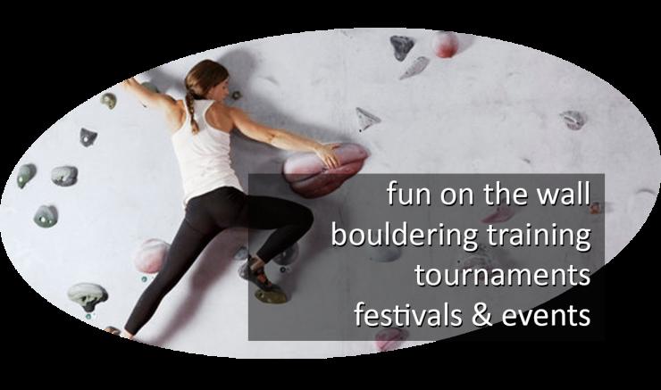 bouldering programs