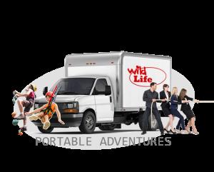 portable adventures button