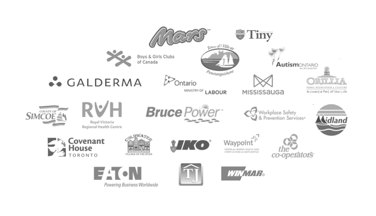 corp clients logos elips