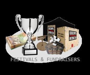 festivals fundraisers image button